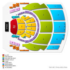 Met Philly Seating Chart The Met Philadelphia Tickets