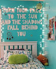 Bedroom wall quotes magazines