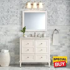 White Bathroom Vanities Cabinets Worth It White Single Bathroom