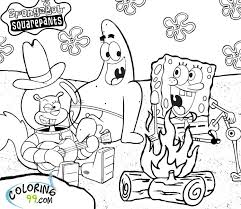 Small Picture Printable Coloring Pages Spongebob Squarepants Coloring Pages