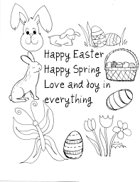 Free Printable Easter Coloring Pages Crafts