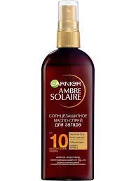 <b>Солнцезащитное масло</b>-спрей для загара Ambre Solaire ...