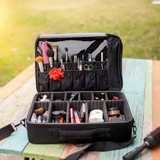 a hefty cosmetic case perfect for the professional makeup artists out there just trying not to drown in all their s if this isn t organization