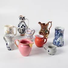 Decorative Ceramic Pitchers Decorative Ceramic and Glass Pitchers featuring Royal Doulton EBTH 25