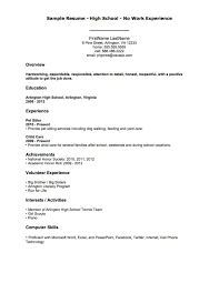 Cover Letter Sample Acting Resume No Experience Acting Resume No