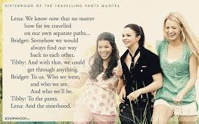 Sisterhood Quotes Beauteous Download Sisterhood Of The Traveling Pants Quotes About Friendship