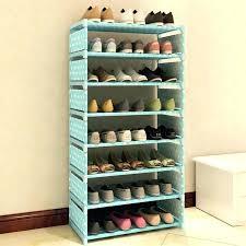 closet maid shoe organizer shoes rack closet 7 layers non woven fabric shoe rack shelf storage