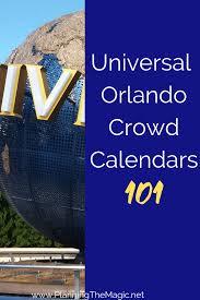 Best Universal Studios Orlando Crowd Calendars 2019
