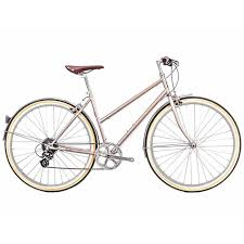 Odessa 8spd City Bike Pershing Gold