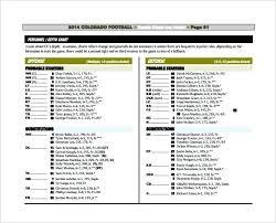 Depth Chart Template Excel Unbiased Football Defensive Depth Chart Template Football