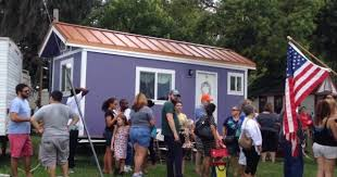 Small Picture Tiny House Community in Orlando Florida RV Park