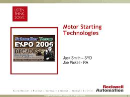 Allen Bradley Heater Element Chart Type W Motor Starting Technologies Ppt Video Online Download