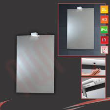 Heated Bathroom Mirrors Led Down Lighter Bathroom Mirrors Infrared Sensor Heat Demister