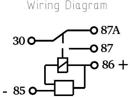 hid time delay relay retro solutions store schematic delay relay diagram