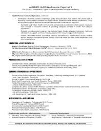 Inspiring Environmental Planner Resume 76 On Resume Templates Word with Environmental  Planner Resume