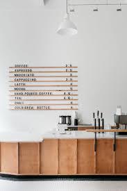 Menu board at Passenger Coffees new Coffee Bar & Tea Room. Coffe Shop  DecorationCoffe ...