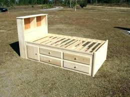 diy twin bed with storage twin bed frame with storage twin bed with storage best captains diy twin bed