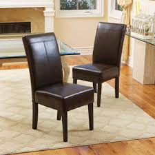 leather king high dining chair