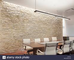creative lighting design. Office Conference Room With Creative Lighting Designed By Pinnacle Lighting. A Feature Textured Wall, Table And Chairs. Meeting Room. Design L