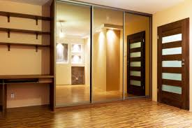 Mirrored Sliding Closet Doors For Bedrooms Closet Doors With Mirror Panels Roselawnlutheran