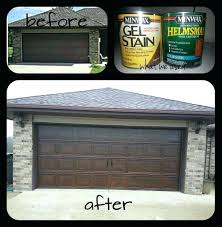 gel stain on metal took our plain metal garage door used gel stain to paint it gel stain on metal gel stain garage door