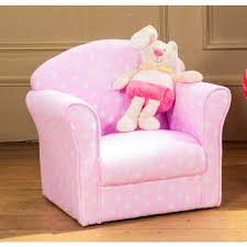 pink kids armchair