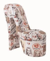 Marilyn Monroe Bedroom Furniture Stiletto Retro Marilyn Monroe Coloured Print Novelty Chair Sit