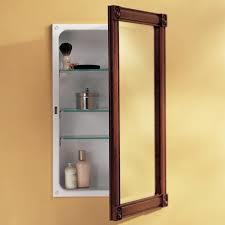 Bathroom: Cool Medicine Cabinet Recessed Bathroom Cabinets With Mirrors On  from Impressive Recessed Bathroom Medicine