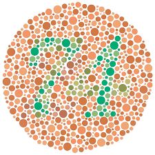 Eye Test Colour Chart Color Blind Test Test Color Vision By Ishihara Test For