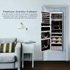 mirror wall mounted armoire wooden