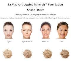 la mav anti ageing mineral foundation powder light um skin nz