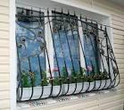Съемные решетки на окна для 54