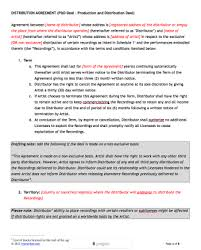 Permalink to Distribution Contract Template : 31 Sample Agreement Templates In Microsoft Word Hloom / In common law legal systems, a contract (or.