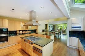 Kitchen Islands With Stove Natural Wood Kitchen Island Zampco