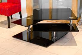 black glass coffee table. More Views Black Glass Coffee Table E