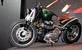 triumph bobber by tfc1 team bikevx