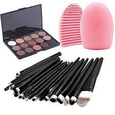 20 Pcs <b>Makeup</b> Brush Set Powder <b>Foundation</b> Eye shadow Eyeliner ...