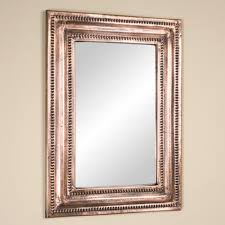 rectangle mirror frame. Exellent Frame Rectangular Lightly Hammered Copper Mirror  Antique CopperFeaturing A  Rustic Lightly Hammered Rim This Mirror Will Add Both Style And  With Rectangle Frame