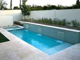 modern pool designs and landscaping. Small Modern Pool Wonderful Space Backyard Landscape Ideas With Rectangular Infinity Designs And Landscaping I