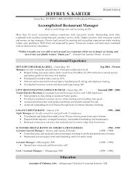 restaurant general manager job resume equations solver resume general manager restaurant bgmr