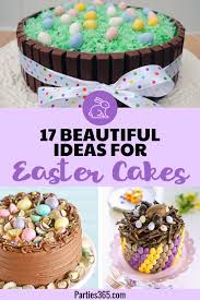 17 Beautiful And Easy Easter Cake Ideas Parties365