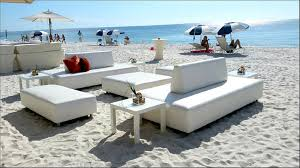 white beach furniture. White Sand Beaches And Our Rental Lounge Furniture. A Day On The Beach, Naples Style. | Niche Event Rentals Naples, FL Beach Furniture D