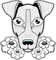 Cat And Dog Coloring Pages Rosarioturismoinfo