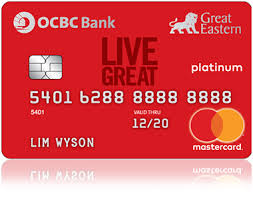 Credit Cards Application Form - Apply For An Ocbc Credit Card | Ocbc ...