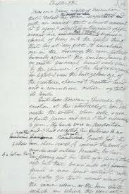 mary shelley s frankenstein the themes of giving birth and  manuscript page from frankenstein by mary shelley
