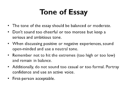 the tone of an essay purpose audience tone and content writing for success