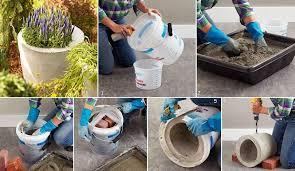 DIY Concrete Planter DIY Projects