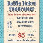 Raffle Ticket Poster Template Raffle Ticket Flyer Raffle Ticket Flyer Forteeuforicco Gastro Design