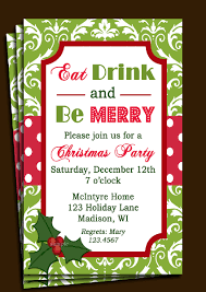Printable Christmas Flyers Printable Invitations For Christmas Party Download Them Or Print