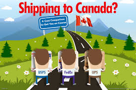 Get On Course Shipping To Canada Fedex Vs Ups Vs Usps